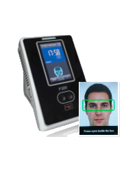 Clock In and Out using Shift 2 Work F300 Facial Recognition Reader